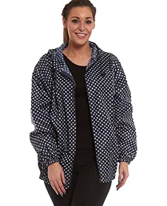 Womens Ladies Fashion Trendy Raincoat Kagool Kagoul Cagoule KAG in a Bag  Free P P (Extra a7e1b9f31