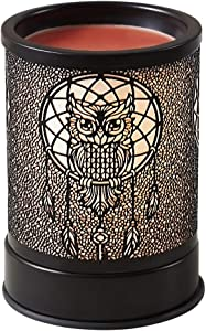 Wax Warmer for Scented Wax Candle Melter - Electric Wax Heater Fragrance Essential Oil Burner for Spa Yoga Gym Office Home Decor(Owl)