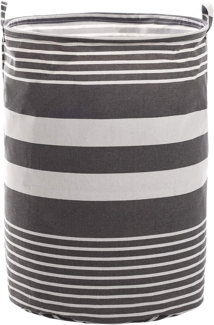Haundry Collapsible Laundry Basket, 22'' Tall Large Round Laundry Hamper for Clothes Storage