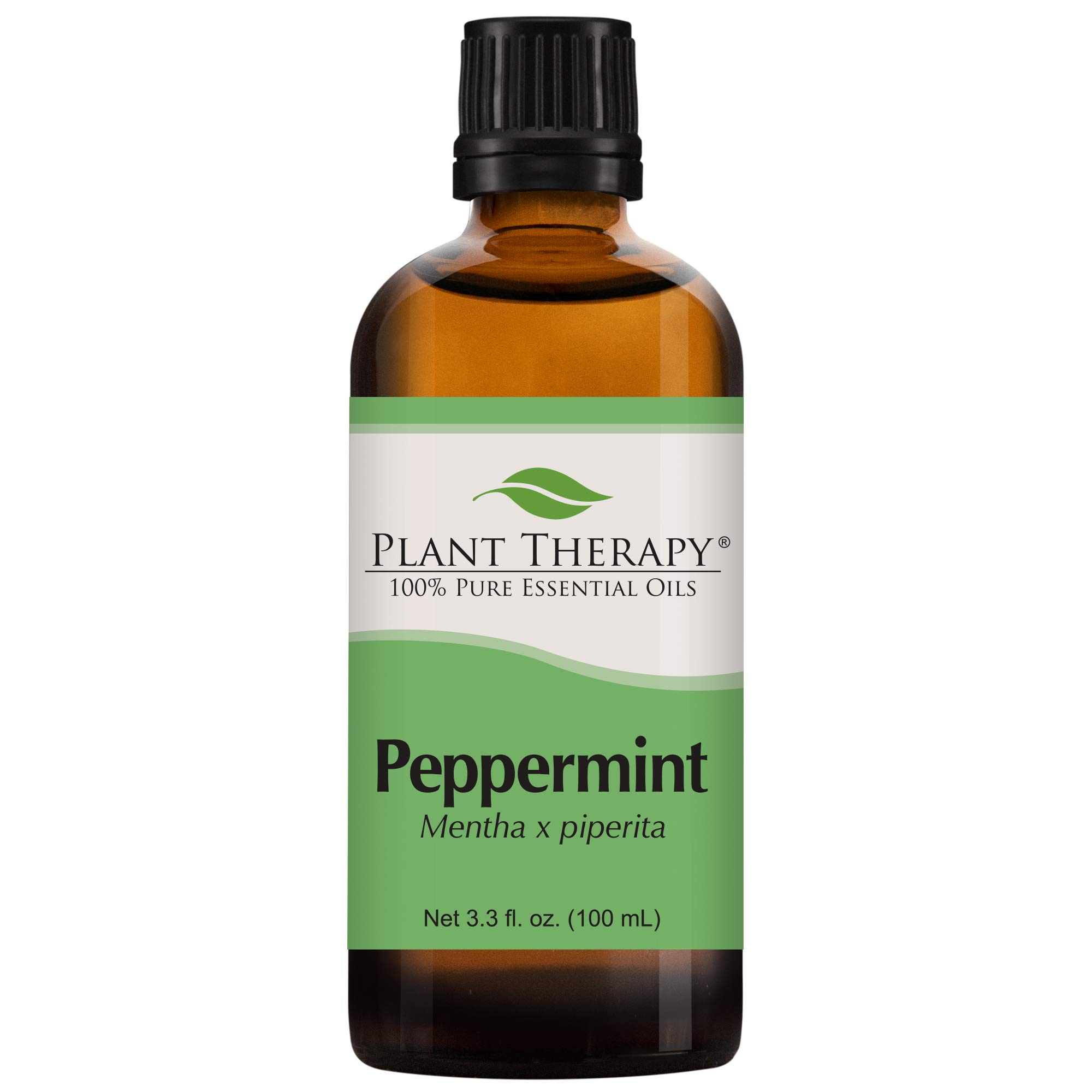 Plant Therapy Peppermint Essential Oil 100% Pure, Undiluted, Natural Aromatherapy, Therapeutic Grade 100 mL (3.3 oz) by Plant Therapy