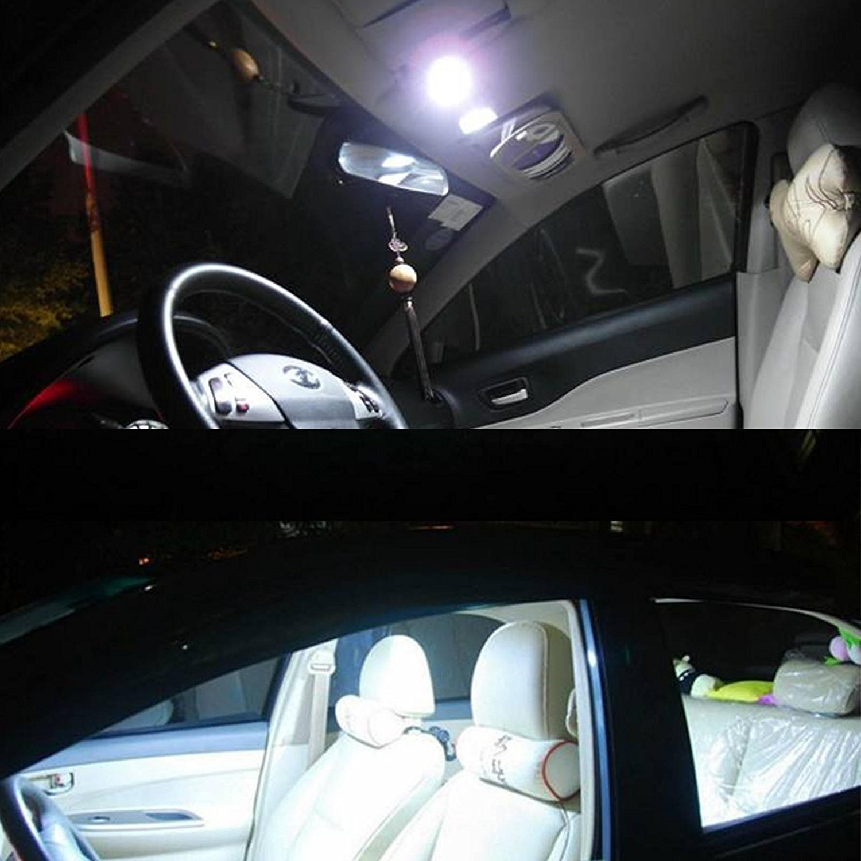 PESIC 20x T10 921 192 Wedge RV Trailer 42-SMD LED Cool White Interior Light Bulbs
