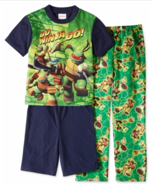 Amazon.com: AME Boys or Little Boys 3-Piece Teenage Mutant ...