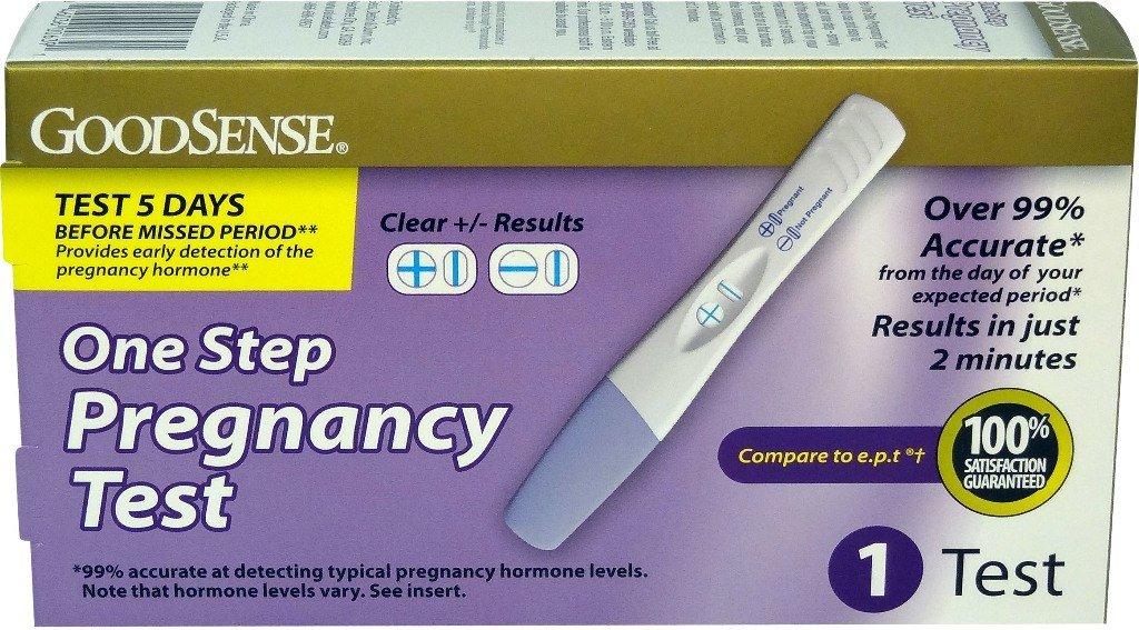 GoodSense® Goodsense® Pregnancy Test- 1 Test(Pack of 24)