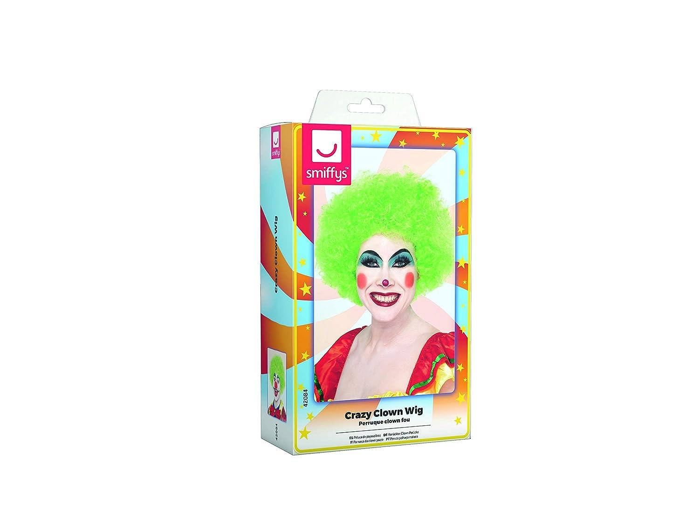 Smiffy's Women's Crazy Clown Wig Blue One Size RH Smith & Sons LTD 42083