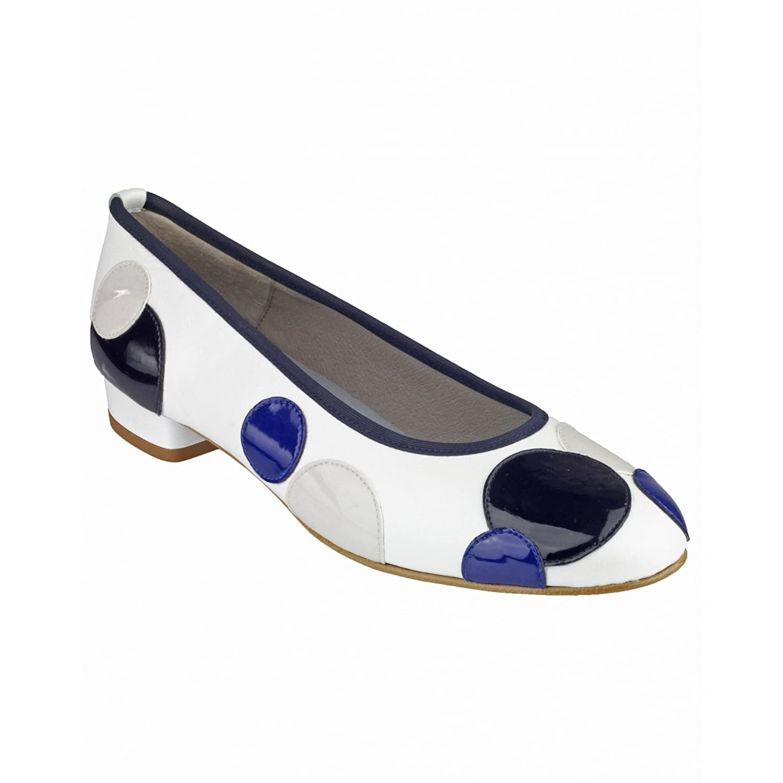 Riva Moosha Leather Pump / Womens Shoes (35 EUR) (Taupe/White):  Amazon.co.uk: Shoes & Bags
