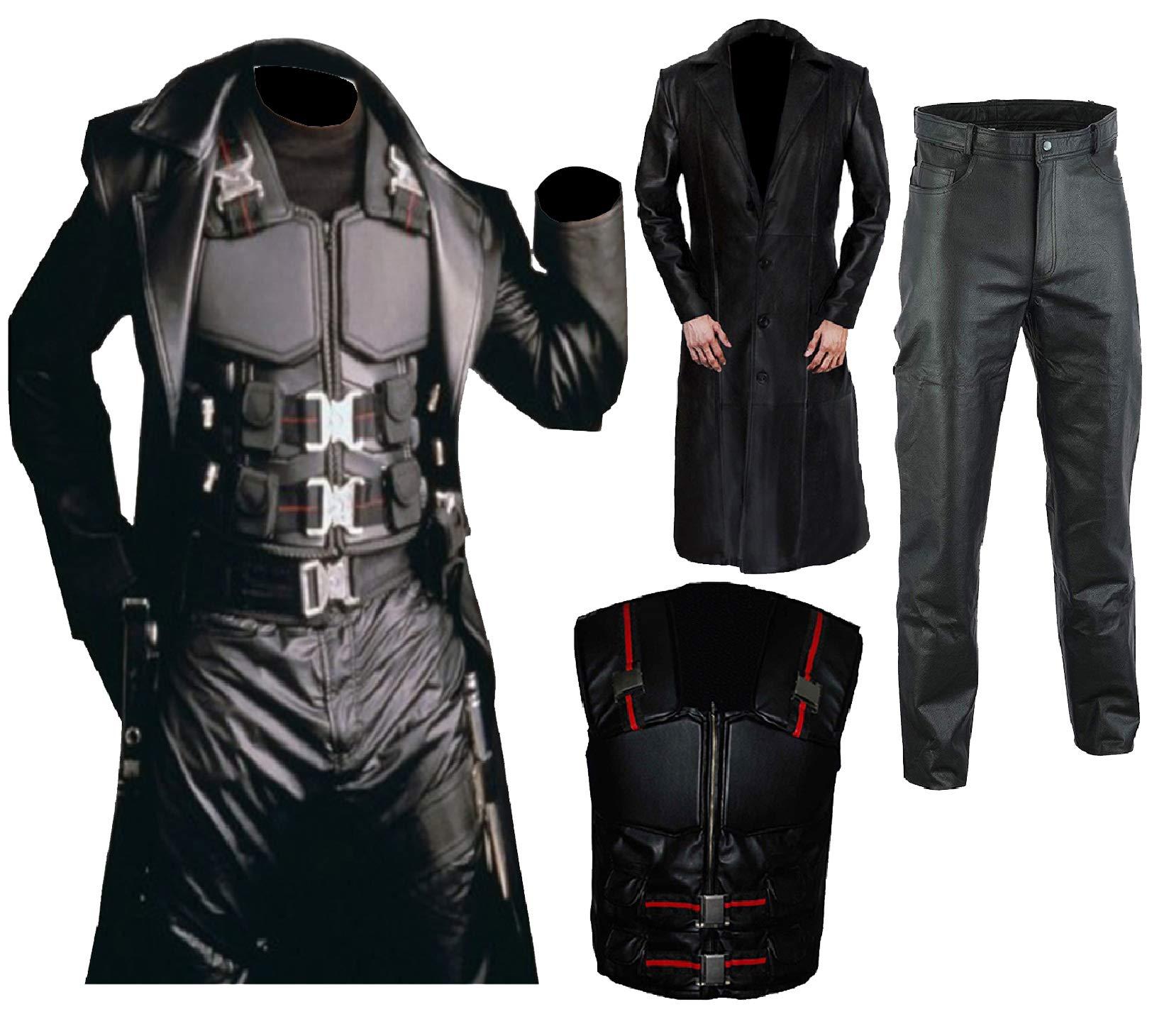 Wesley Snipes Blade Fancy Dress Costume