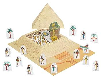 Kartonmodell Pyramide Mumie Bastelvorlage Bastelideen Fur