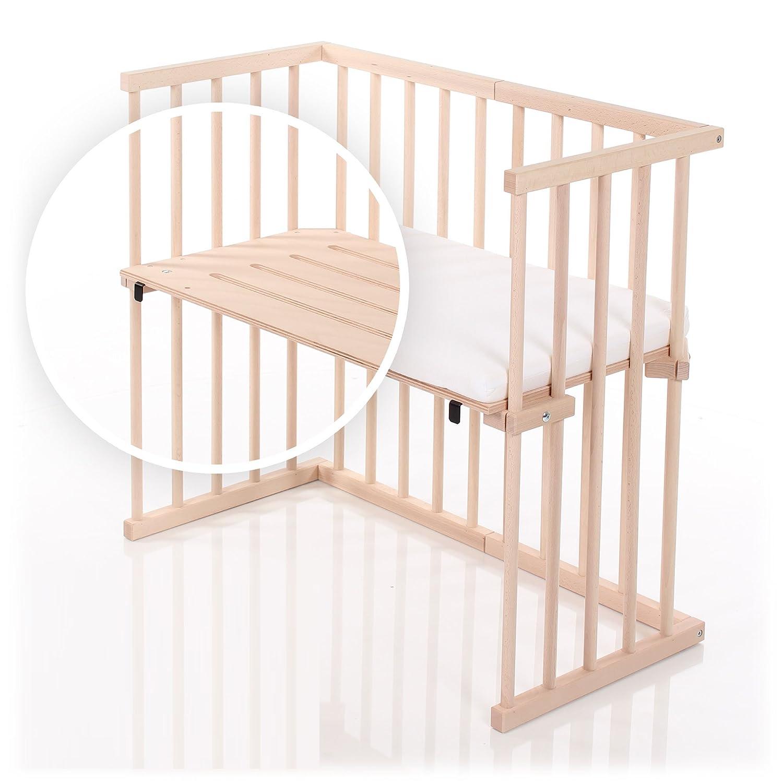 dreamgood - 135142 auxiliar cama haya Incluye Colchón Prime Air & Nido, color marrón: Amazon.es: Bebé