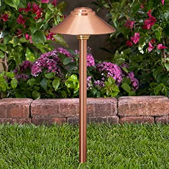 Vista Pro Path And Spread Landscape Lighting PR 2129 Natural Copper