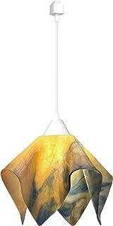 product image for Jezebel Signature JRWH-FP16-STR-TRWH White Flame Track Light, Large, Strawflower