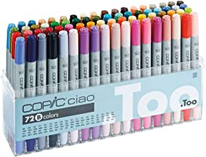 Copic I72B - Pack de 72 marcadores, set B: Amazon.es: Oficina y papelería