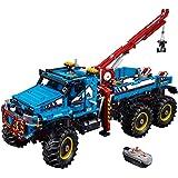 LEGO Technic 6x6 All Terrain Tow Truck Building Kit, 1862 Piece