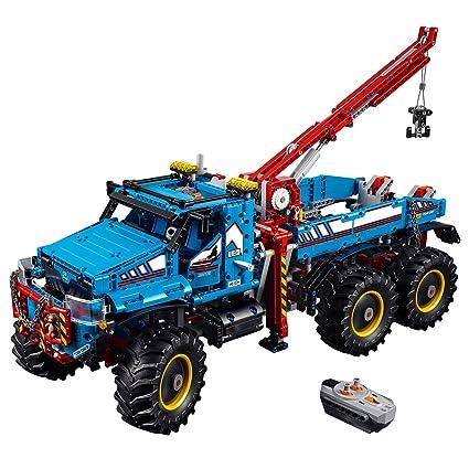 1c3b289f41d4f9 LEGO Technic 6x6 All Terrain Tow Truck 42070 Building Kit (1862 Piece),  Building Sets - Amazon Canada