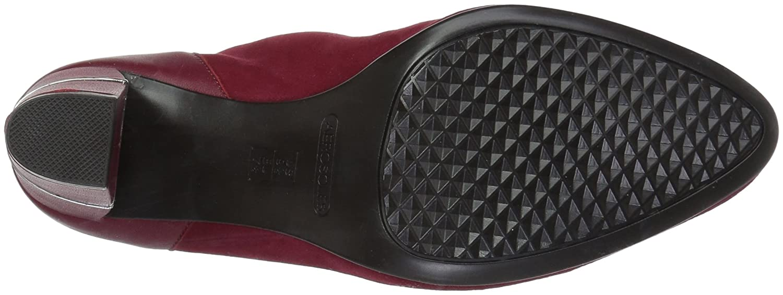 Aerosoles Women's Teleport Ankle US|Dark Boot B073RXXWW8 5 B(M) US|Dark Ankle Red Suede 364c3d