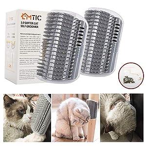 Cat Self Groomer Wall Corner Massage Comb