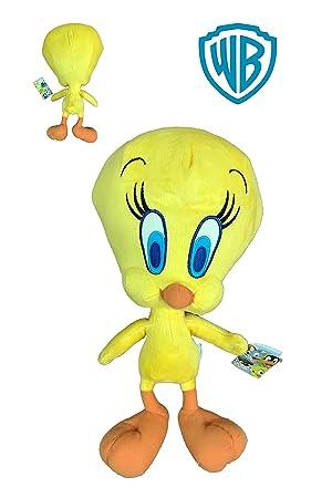 TL Warner Pajaro Canario Piolin 50cm - Looney Tunes - Calidad Soft