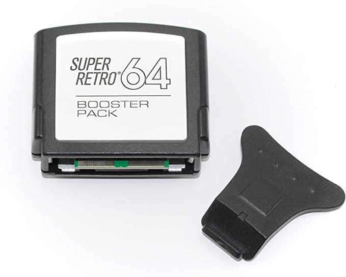 Jumper Pak Pack para la consola Nintendo 64 N64 con herramienta de eliminación: Amazon.es: Videojuegos