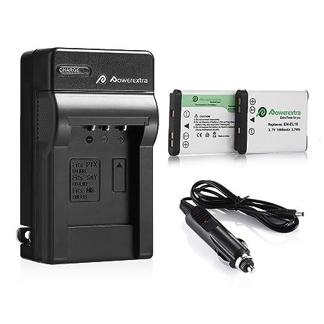Amazon.com: Powerextra Batería de repuesto y cargador para ...