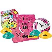 Summit Global Liz Ellis Target Kids/Teens Size 4 Netball Training Set w/Ball/Cones/Goal/Pump