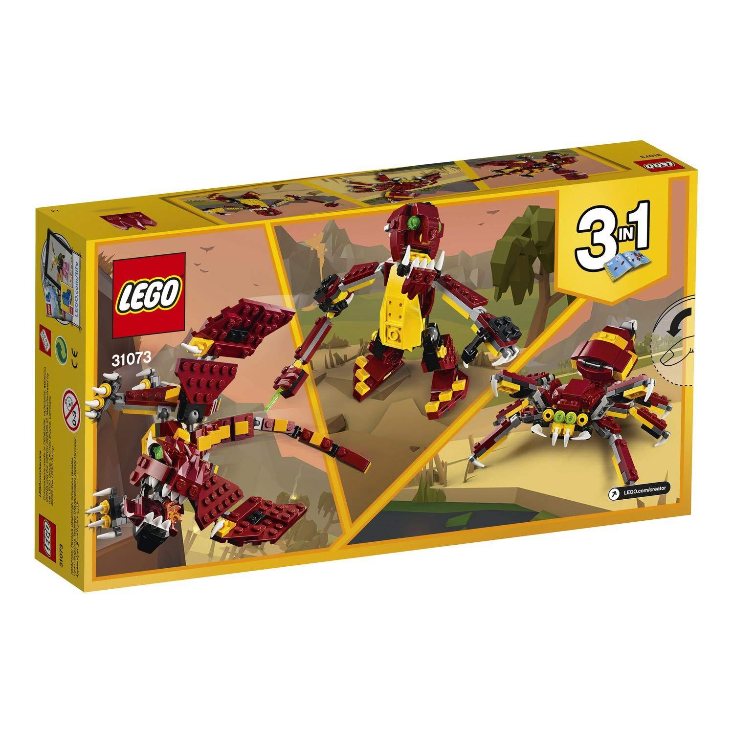 31074 Coche de Rally a reacci/ón LEGO Creator