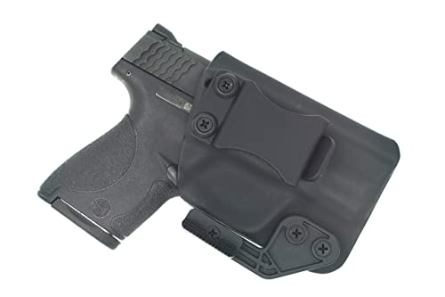 Sunsmith Holster AIWB Series - Compatible with Smith & Wesson M&P Shield Kydex Appendix Carry Inside Waistband Concealed Carry Holster Made in USA