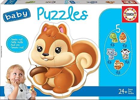 Borrás PuzzleColor Dibujos Animados Cómic Educa Baby Variado13473 Y 2IWDEHY9