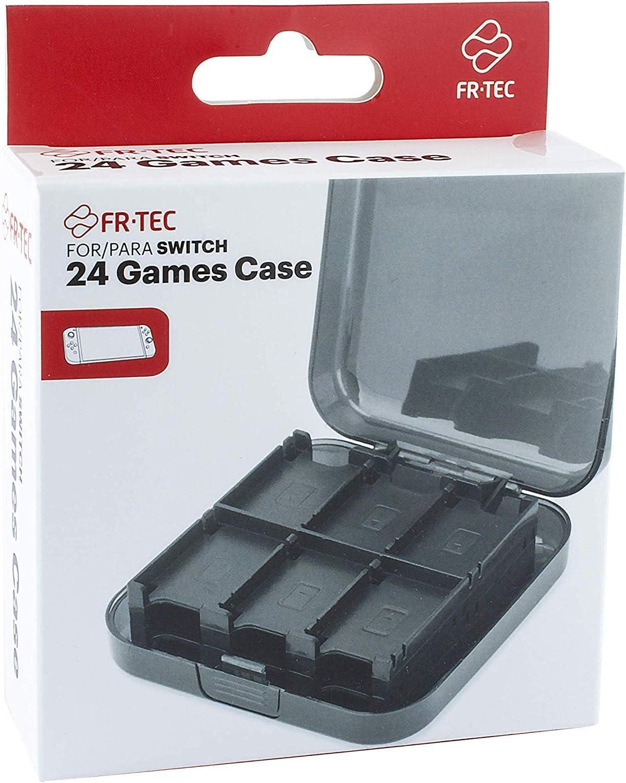 FR·TEC - Funda para almacenamiento de 24 juegos, para Nintendo Switch: Amazon.es: Videojuegos