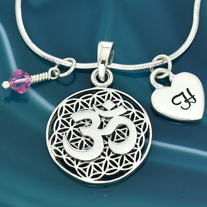 fabulous shiny customized pendant 925 fine pure silver Aum pendant best gifting vintage ethnic style pendant necklace ssp415