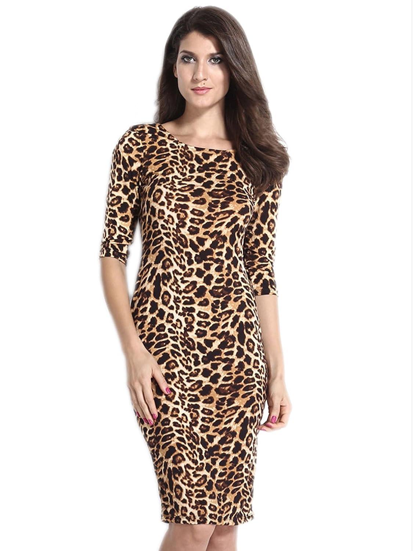 Großartig Leoparddruck Partykleid Ideen - Brautkleider Ideen ...