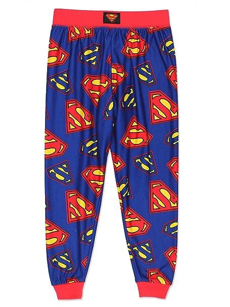 92d475c74 Amazon.com  Superman Boys Flannel Pajama Pants (Little Kid Big Kid ...