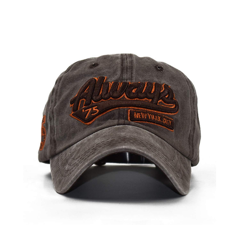 Xivikow Summer Baseball Caps for Men Women Retro Washed Cap Fitted Snapback Cap Bone Gorras Casquette Dad Hats