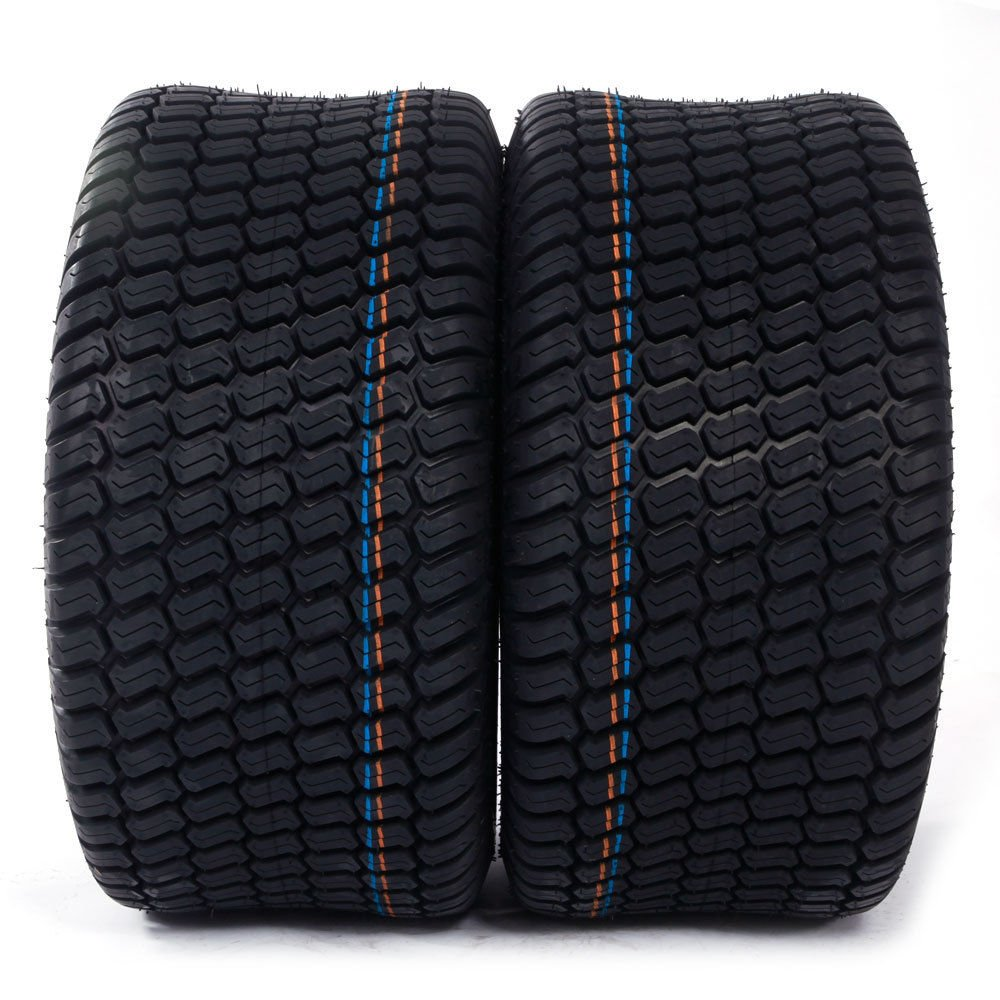 Set of 2 23x10.50x12 Turf Tires 4 Ply 23x10.50-12 Lawn Mower Tractor Golf Cart Tires