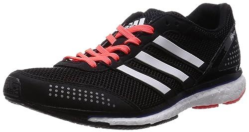competitive price f0615 7841a adidas Adizero Adios Boost 2 W, Zapatillas para Mujer, NegroBlancoRojo,  44 23 EU Amazon.es Zapatos y complementos