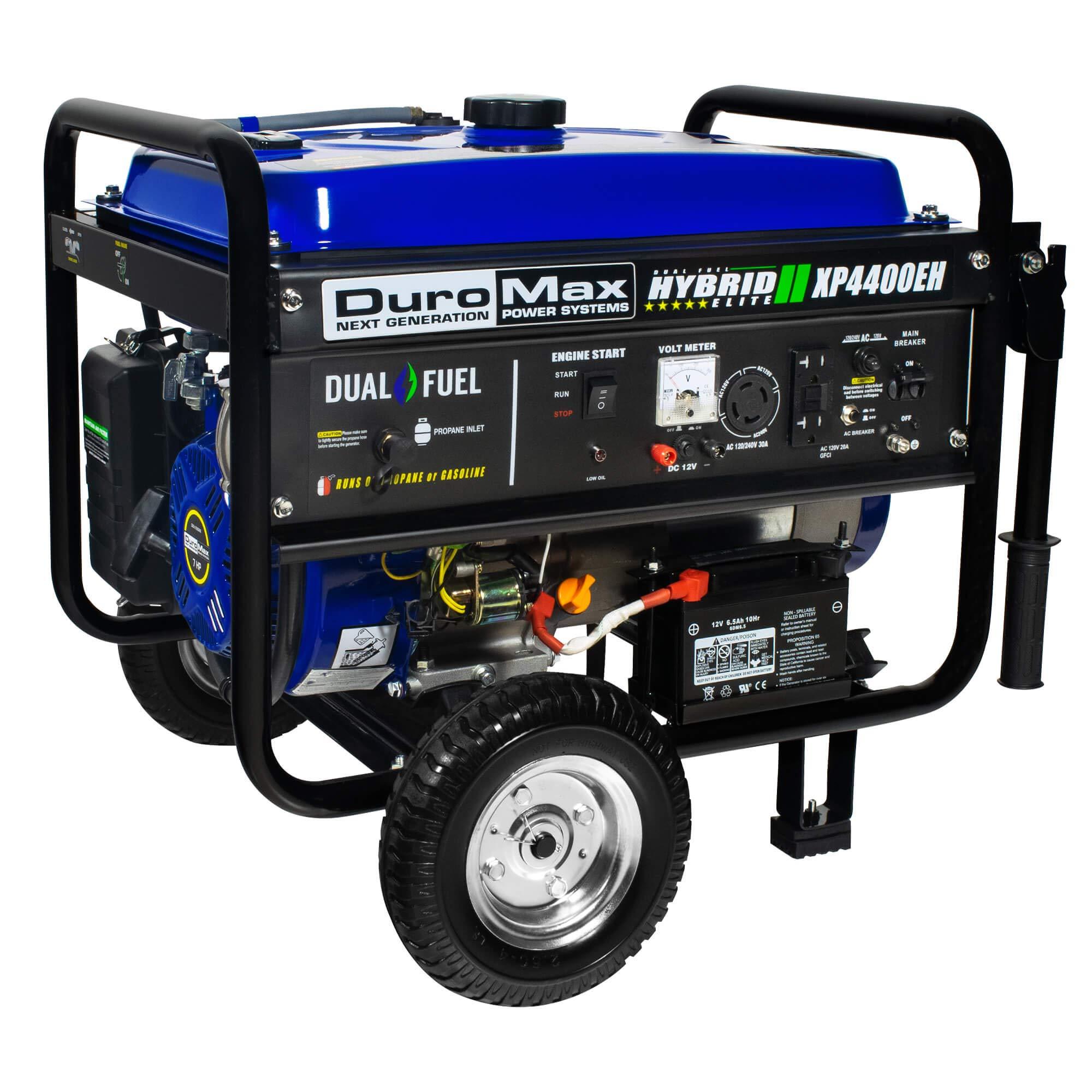 DuroMax Hybrid Dual Fuel XP4400EH 4,400-Watt Portable Generator by DuroMax (Image #3)
