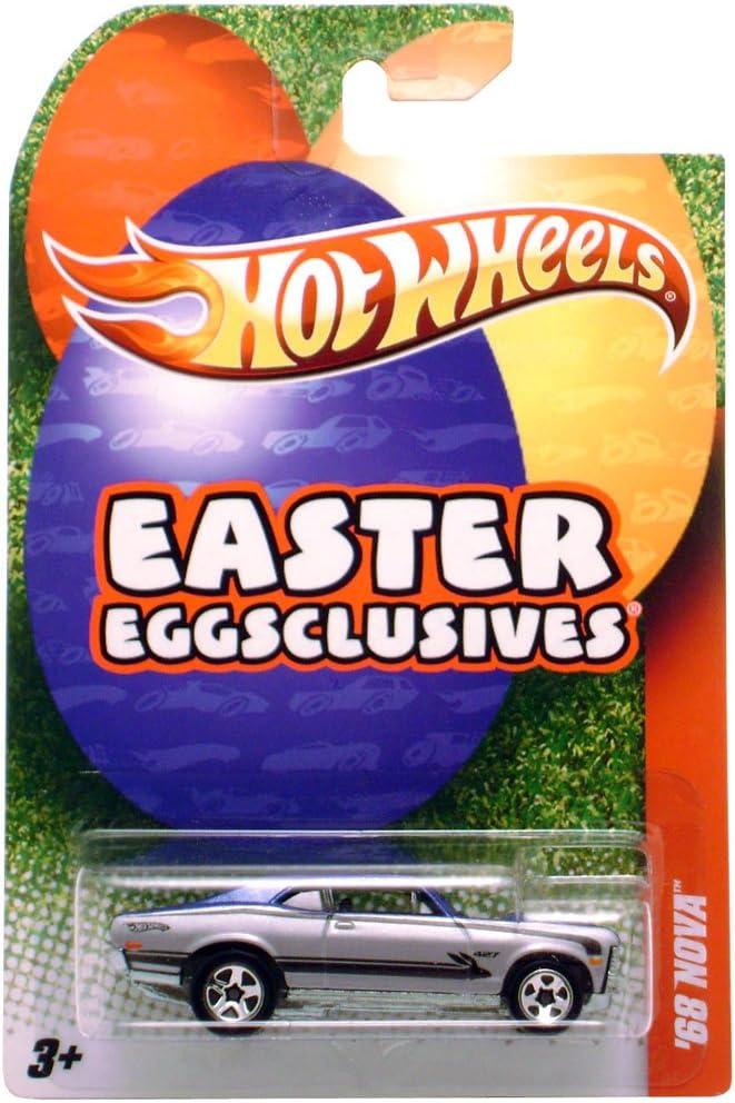 Hot Wheels Easter Eggsclusives 68 Nova Silver//Blue
