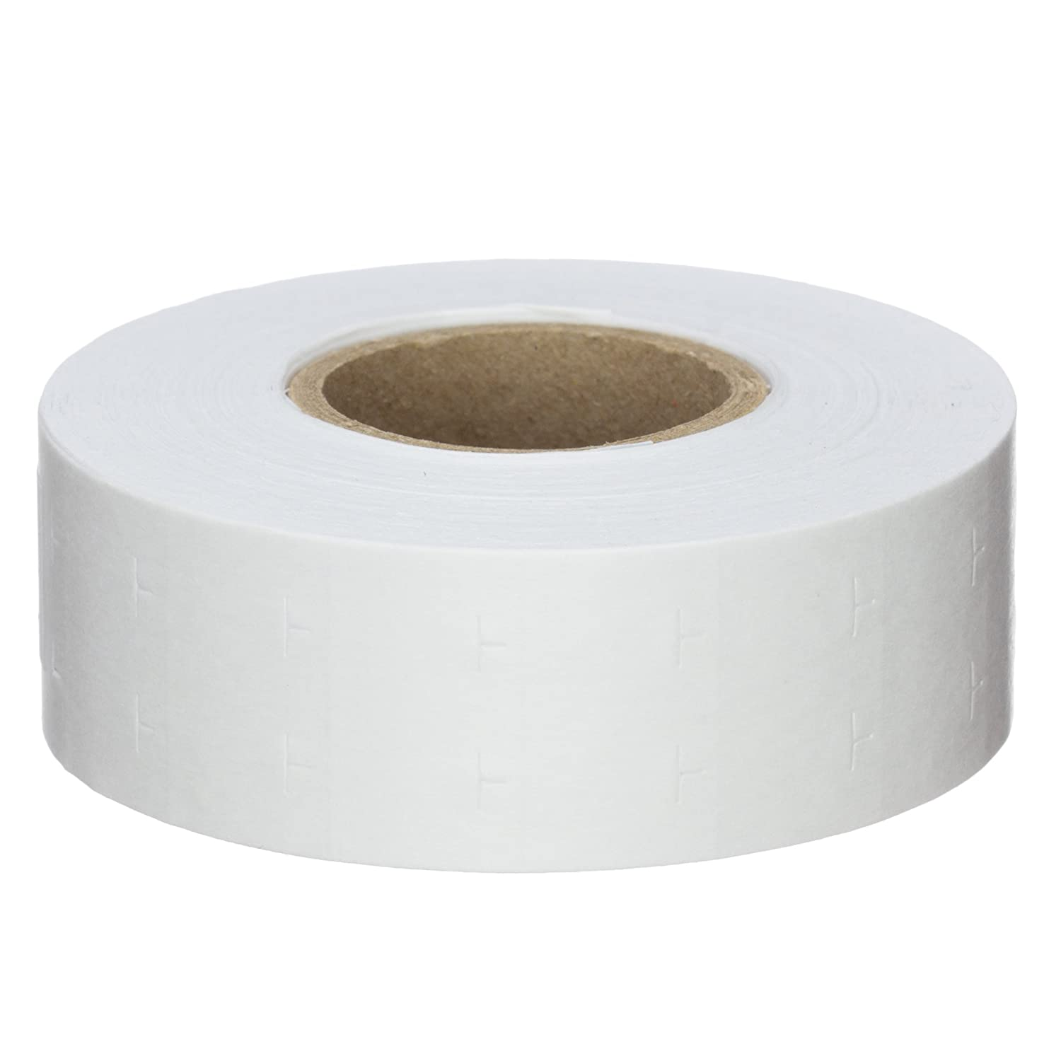 White 9,600 Labels Pack with 8 Rolls Labels for Us Garvey 2212 Compatible Labels