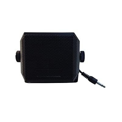 Anteenna TW-09-STRAIGHT Type CB EXTENAL Speaker for Mobile Transceiver (Ham Radio/CB Radio) with Swivel Bracket 5W 1.8M Cable with 3.5mm Mono Straight Type Plug: GPS & Navigation