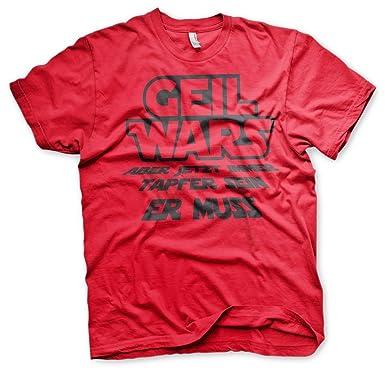 Geil Wars Junggesellenabschied Shirt Motiv 2 S###Rot