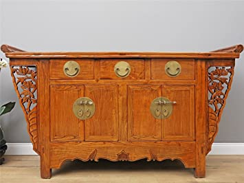 Yajutang Antike Altar Chinesische Kommode Sideboard Hochzeitsschrank