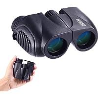 Fernglas 10x22 Teleskop Klein Kompakt, leichtes klappbares Ferngläser, Mini Binocular, Scharfe Weitsicht für Kinder, Erwachsene, Wandern, Jagd, Sightseeing,Vogelbeobachtung - Tacklife MBC03