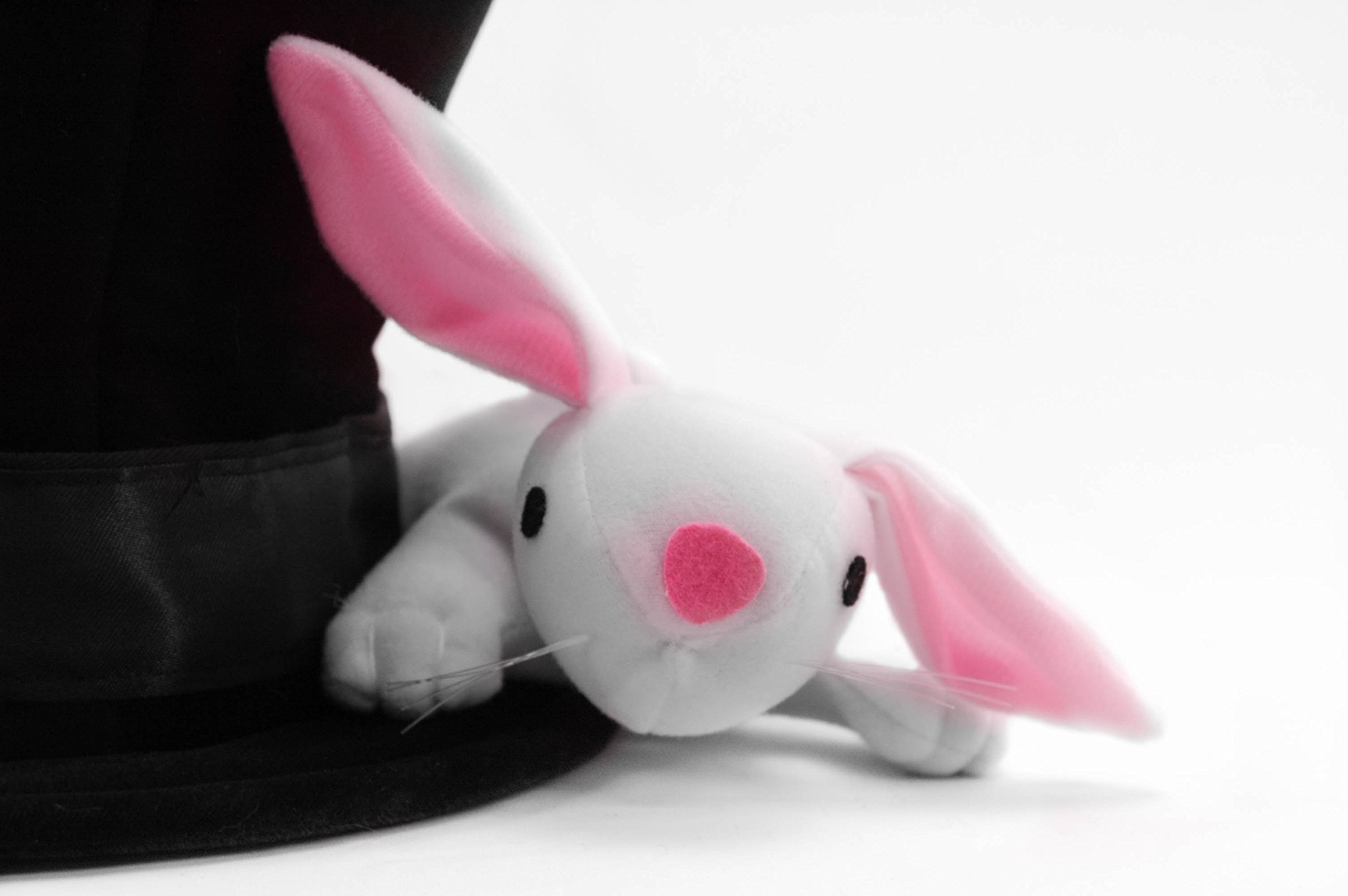elope Magician Hat with Rabbit for Teens and Adults by elope (Image #3)