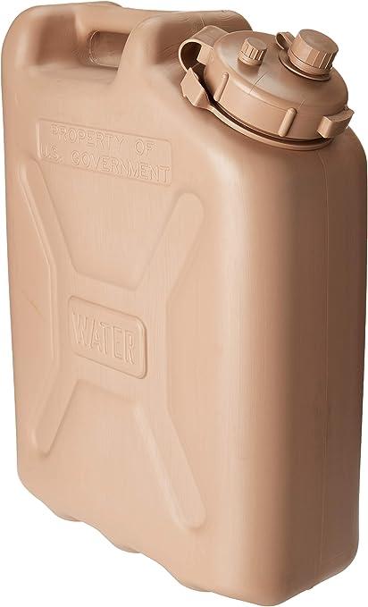 kitchentoolz Premium Militar 5 galones Lata de Agua ...
