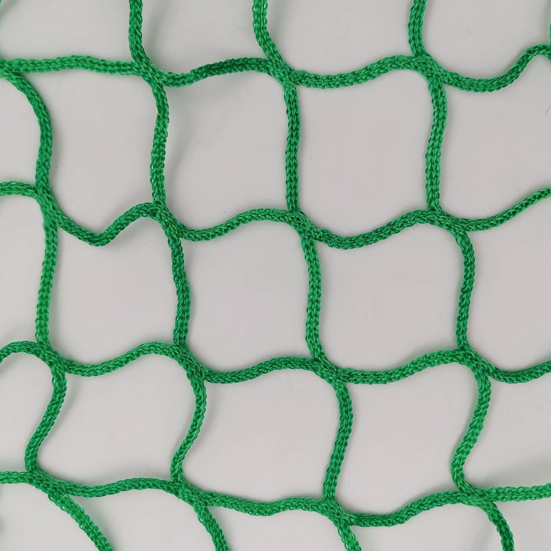 Anh/ängernetz zur Ladungssicherung 2,0 x 3,0 m Mit Gummiband f/ür optimale Anpassung rei/ßfestes Sicherungsnetz aus Hochwertigen Synthetik Polypropylen Fasern