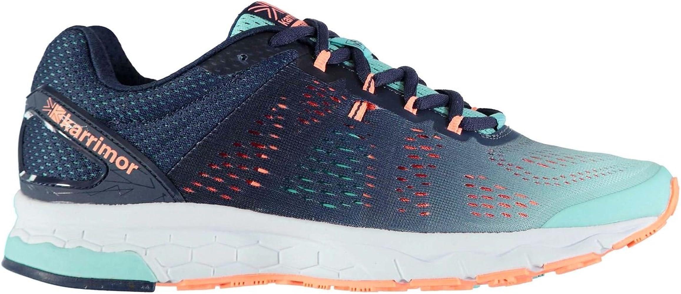 Karrimor Mujer Tempo 5 Support Zapatillas De Running De Carrera Azul Marino/Coral EU 38.5 (UK 5.5): Amazon.es: Zapatos y complementos