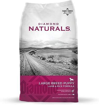 Diamond Naturals Large Breed Puppy Real Lamb Recipe Premium Dry Dog Food