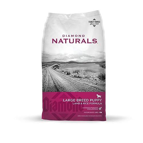 Diamond Naturals Large Breed Puppy Lamb & Rice Formula Review