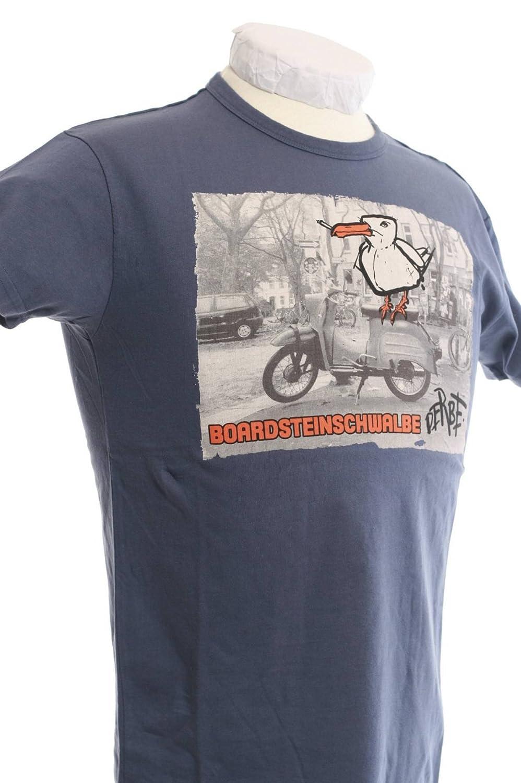 Derbe Damen T-Shirt Katerfrühstück grau melange Frauen Tshirt Deerns Hamburg