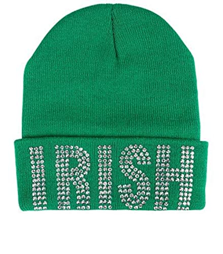 Amazon.com  IRISH BLING BEANIE HAT ST PATRICKS DAY  Jewelry 776f2a28613