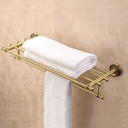 YFF@ILU CU Continental Todos estantería de baño WC bastidores de Toallas de baño Doble