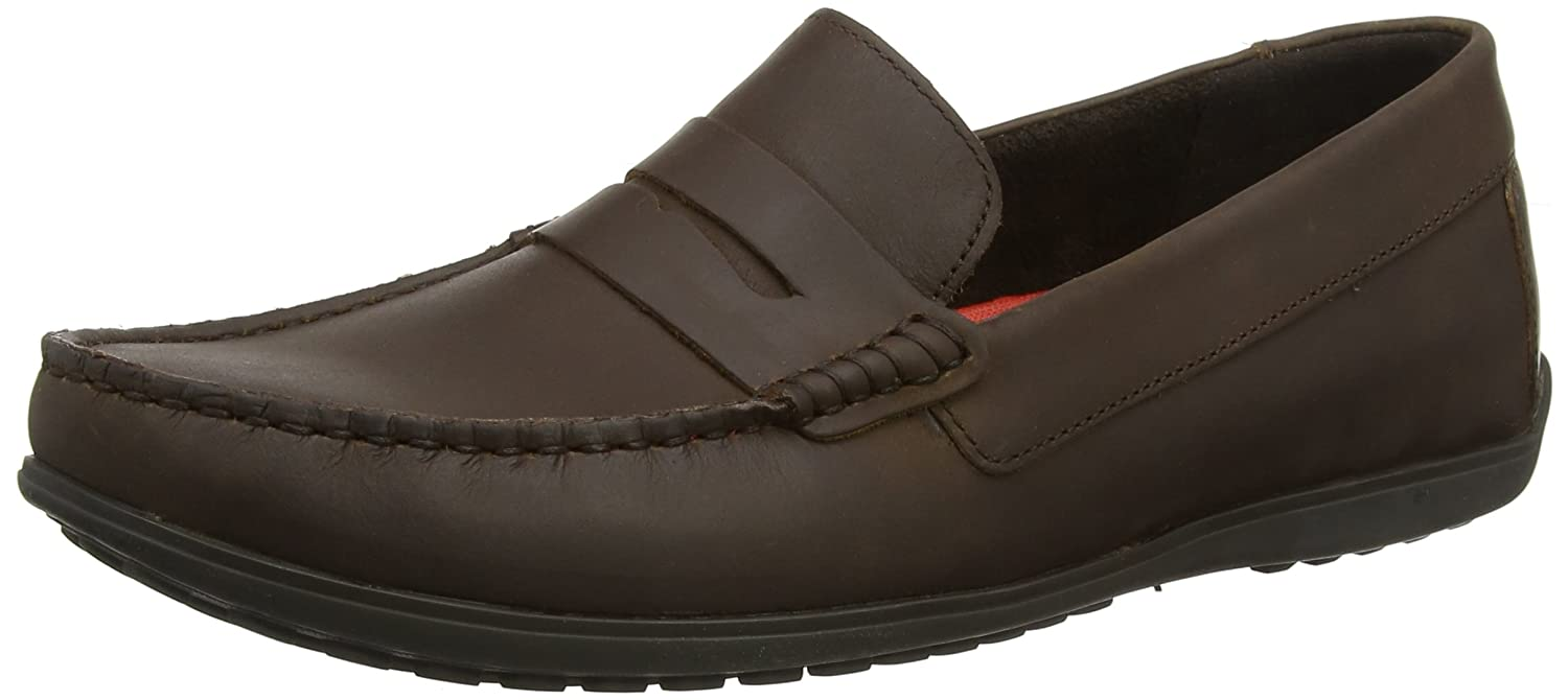 Rockport Bayley Penny Dark Brown Mocasines Hombre, Marrón (Dark Brown), 42 EU (8 UK)